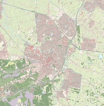 Kaart vanAmersfoort