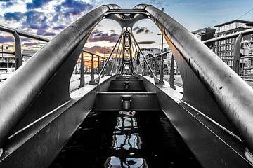 Brücke in Amsterdam von Bart Rondeel