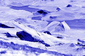 lila knirschendes Eis von joyce kool