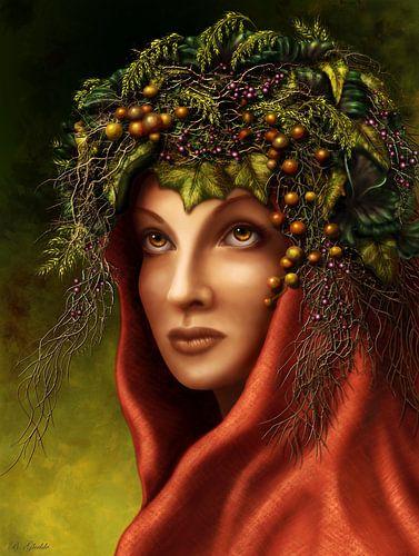 Hüterin des Waldes von Britta Glodde