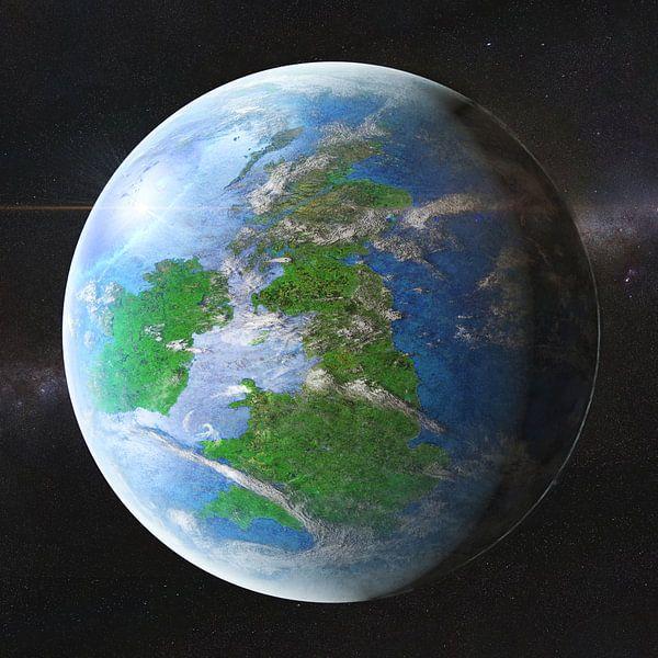 Planeet Brittannië van Frans Blok