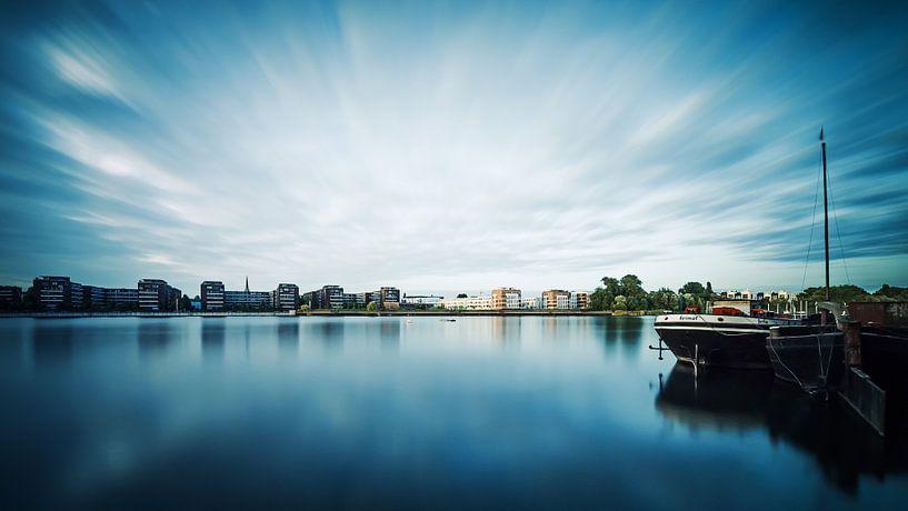 Long Exposure: Berlin – Rummelsburger Bucht van Alexander Voss