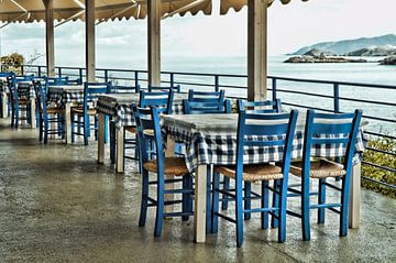 Greek blue von Mieneke Andeweg-van Rijn