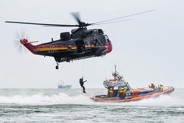 Sea King Rettungshubschrauber von Kris Christiaens