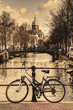 Innenstadt von Amsterdam Niederlande Alt von Hendrik-Jan Kornelis