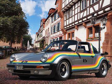 bb Porsche Turbo Targa  von Roland Klinge