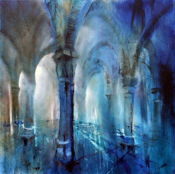 Blaue Säulenhalle von Annette Schmucker