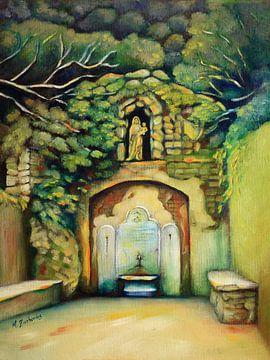 Heilige Quelle mit Madonna von Marita Zacharias