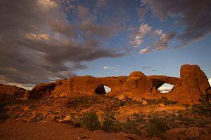 Zonsondergang bij de Window Sectie  von Bergkamp Photography