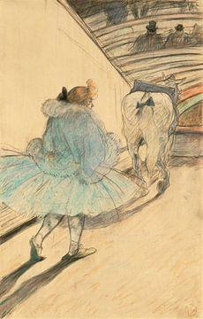 Im Zirkus, Henri de Toulouse-Lautrec - 1899