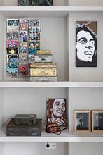 Kundenfoto: Bob Marley von Herman de Langen, auf leinwand