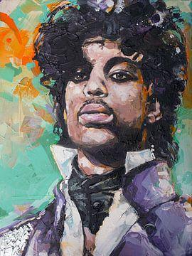 Prince schilderij van Jos Hoppenbrouwers