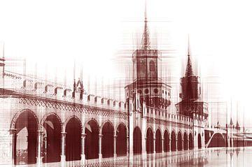 Oberbaumbrücke van Violetta Honkisz