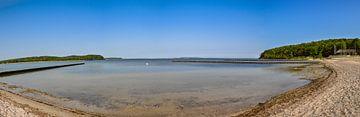 Lagon de Lietzow sur l'île de Rügen, plage naturelle sur GH Foto & Artdesign
