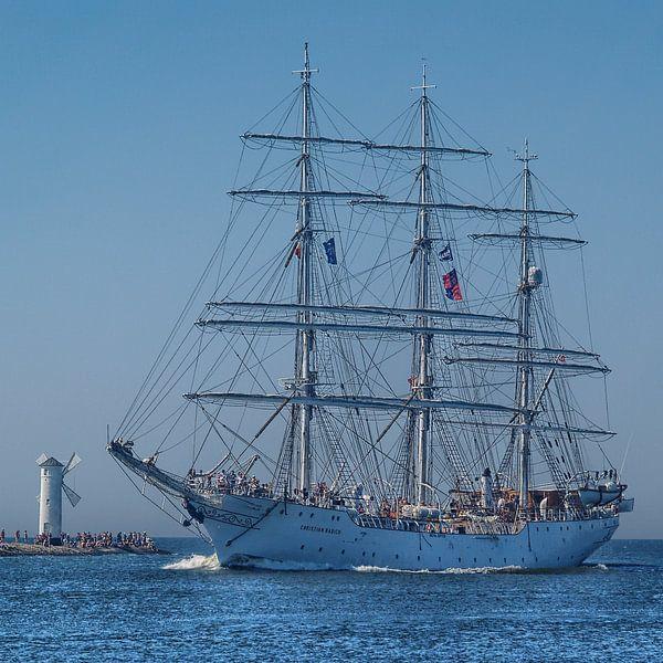 Vollschiff Christian Radich von Peter Morgenroth