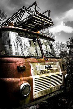 De brandweerwagen van Martijn .
