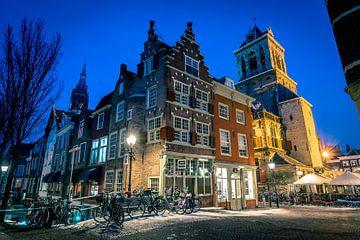 Het mooiste hoekje van Delft van Henri van Avezaath