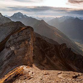 Een warme herfst wandeling in de Oostenrijkse alpen van Hidde Hageman