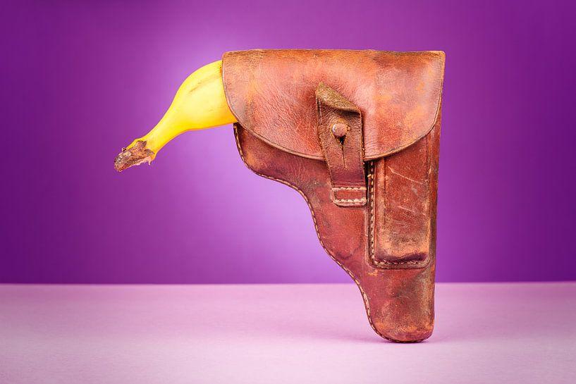Banaan schutter van Steve Van Hoyweghen