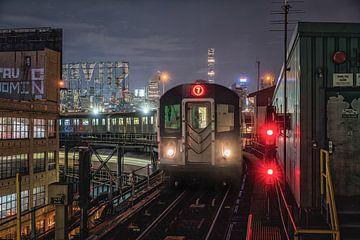 métro new-yorkais sur Reinier Snijders