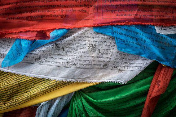 Tibetische Gebetsfahnen  von Roel Beurskens
