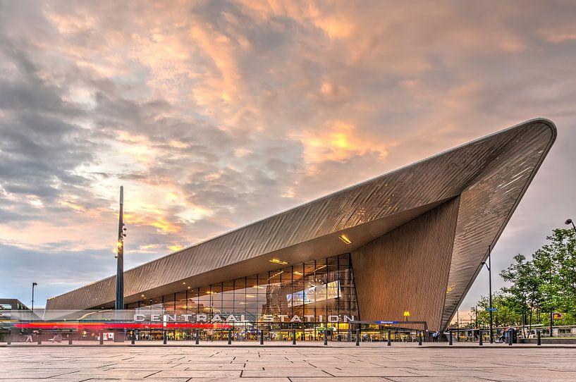 Rotterdam Centraal van Frans Blok