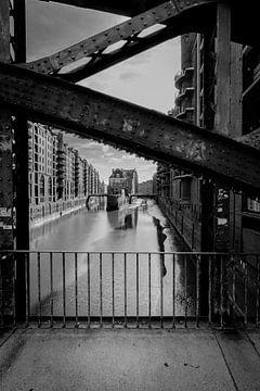Poggenmuhlenbrücke in Hamburg von Robin Gooijers