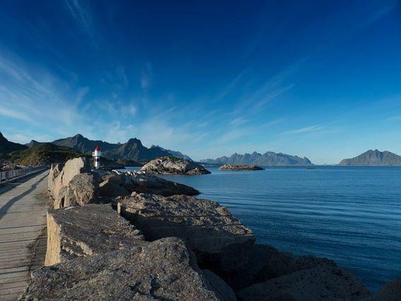 Vuurtoren Noorwegen.