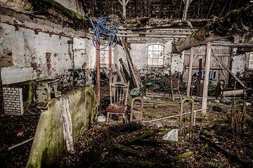 Verlaten Boerderij in HDR- von Brian Morgan