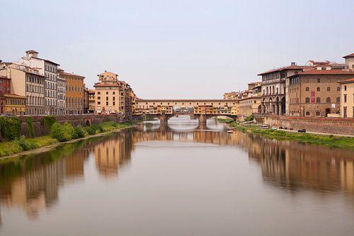 Ponte Vecchio von Leo van Valkenburg