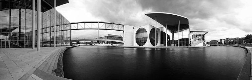 Regeringswijk Berlijn - Panorama van Frank Herrmann