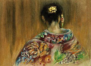 Geishas und Kimonos 3 von Ineke de Rijk