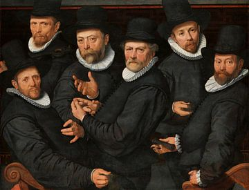 Sechs Aufseher der Tüchergilde, Pieter Pietersz. der Ältere