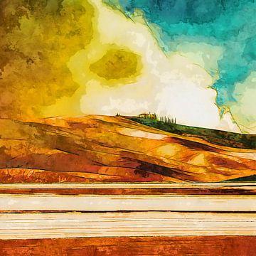 Golden landscape von Andreas Wemmje