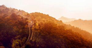 Chinese muur van