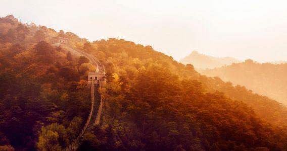 Chinese muur van Sander Wustefeld