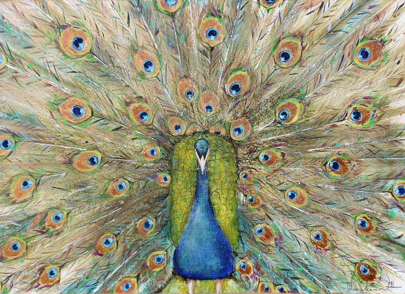 Peacock van Atelier Paint-Ing