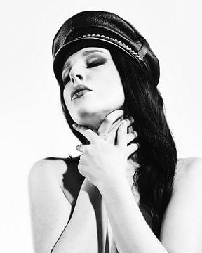 Kinky Porträt von dieser schönen Frau in Domina-Look. #4868 von william langeveld