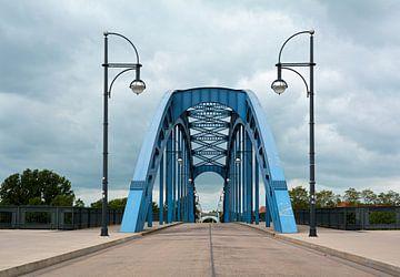 Sternbrücke in Magdeburg von Heiko Kueverling