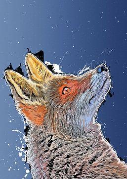 Fuchs Tiere Kunst #Fuchs #Tiere von JBJart Justyna Jaszke