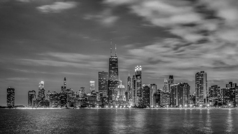 Chicago Black & White van Bart Hendrix