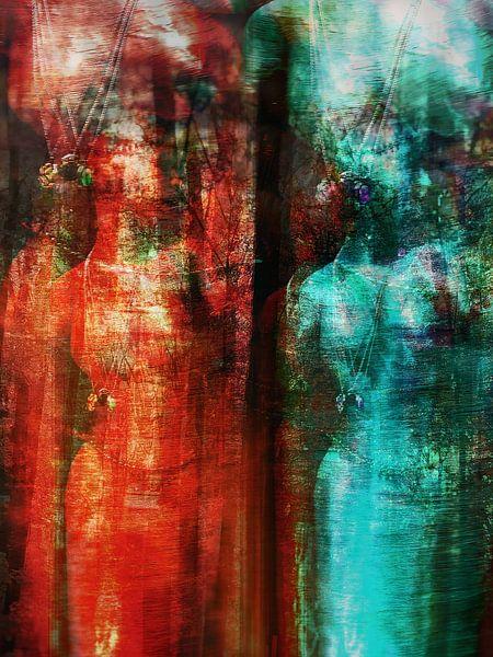 Two women van Gabi Hampe