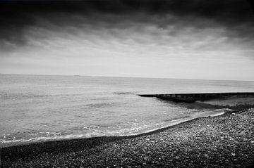 Küste Dieppe Frankreich von Saskia Staal