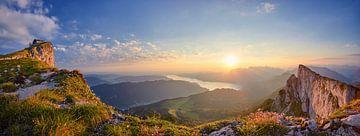 Sonnenaufgang auf der Schafbergspitze von Silvio Schoisswohl