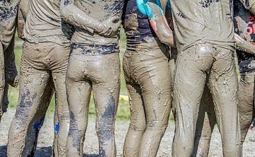 Een modderrace in Nederand van Hamperium Photography