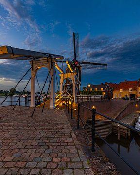 Heusden by Night van Goos den Biesen