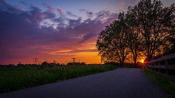 Sonnenuntergang von Jeffrey van Roon