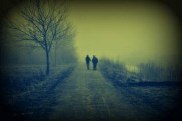 Ommetje in de mist van Bert Vester