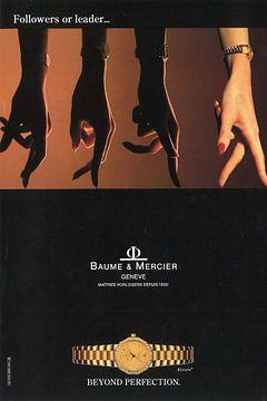 BAUME & MERCIER années 80 sur Jaap Ros
