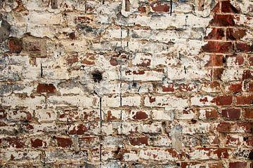 Urban - Alte Backsteinmauer von JOJO